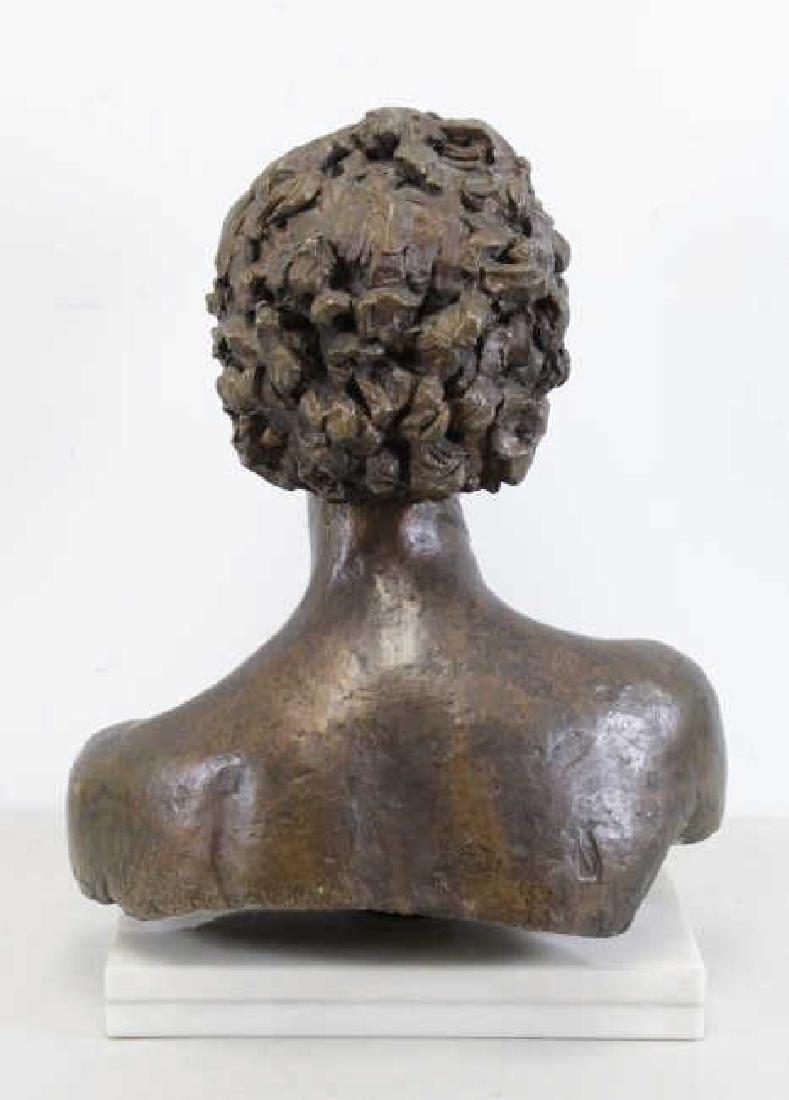 "EPSTEIN, Jacob. ""Third Portrait of Kitty"". Bronze Bust. - 4"