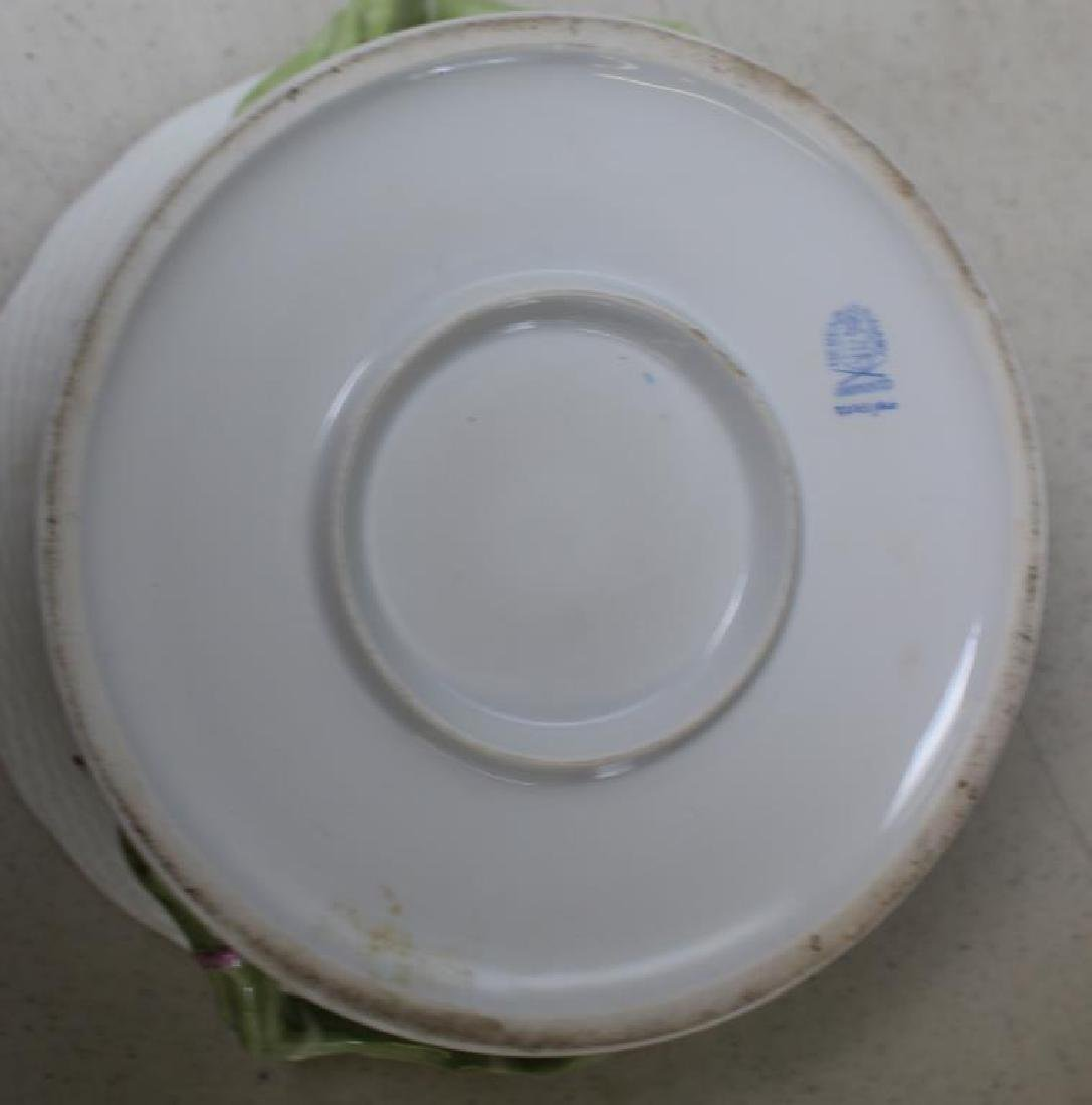 Herend Porcelain Handled Container and - 7