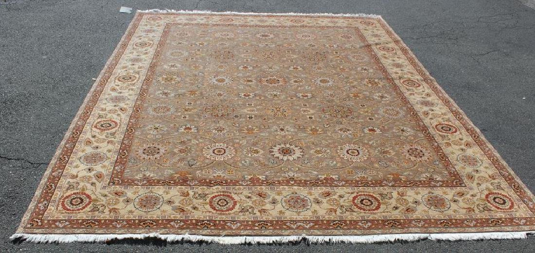 Vintage and Finely Woven Handmade Carpet.