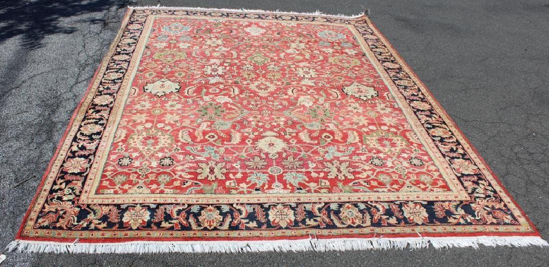 Vintage and Finely Woven Handmade Carpet