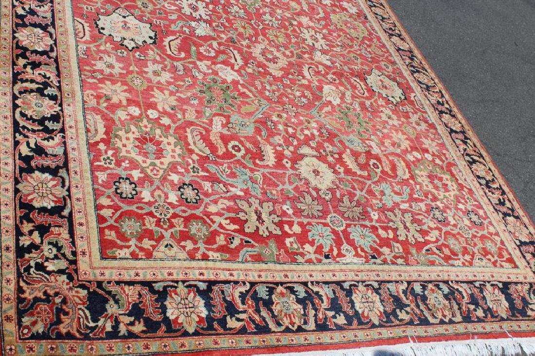 Vintage and Finely Woven Handmade Carpet - 2