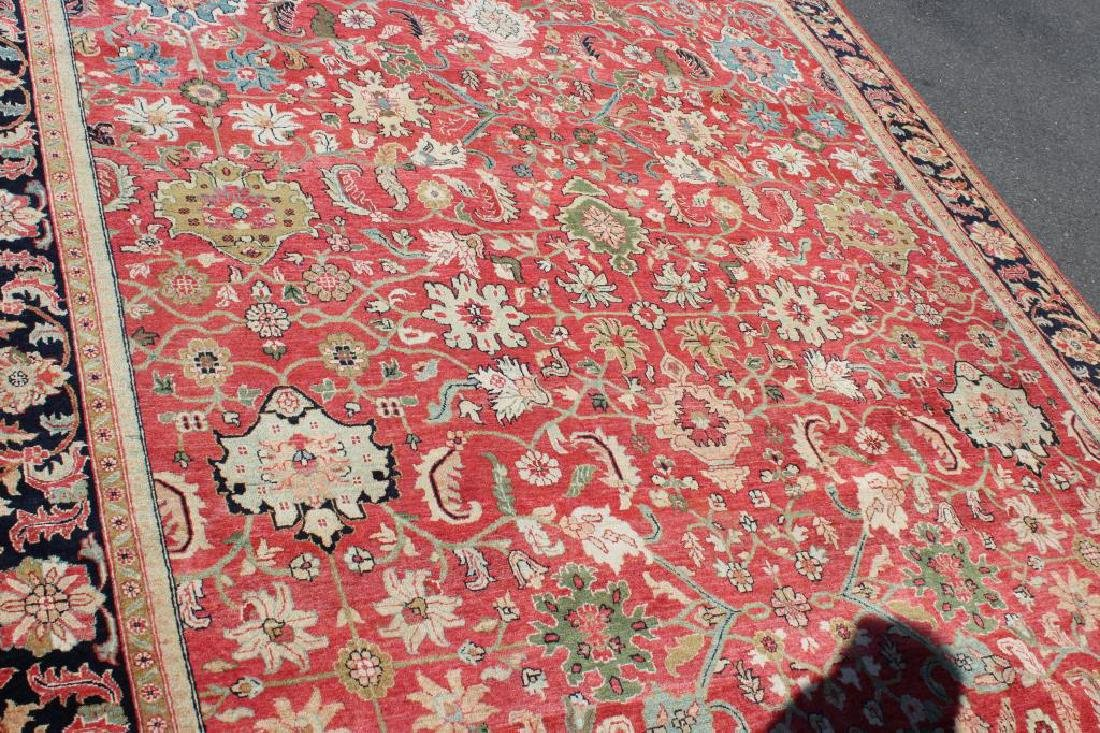 Vintage and Finely Woven Handmade Carpet - 3