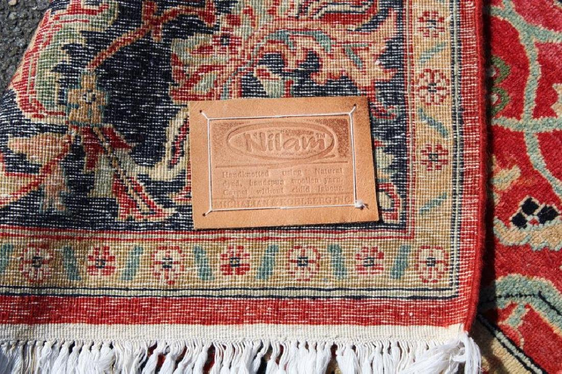 Vintage and Finely Woven Handmade Carpet - 5
