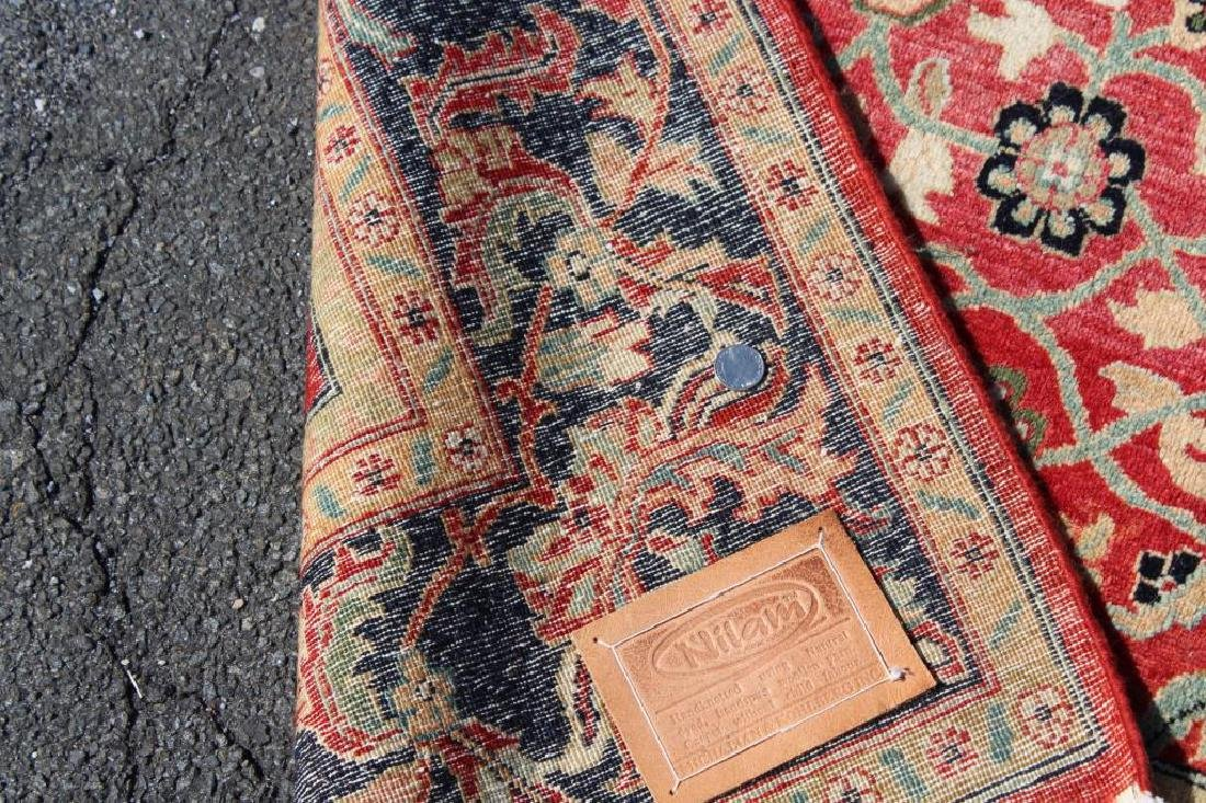 Vintage and Finely Woven Handmade Carpet - 6