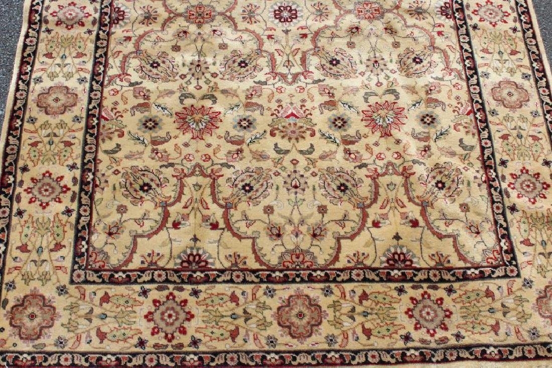 Vintage and Finely Woven Handmade Area Carpet. - 2