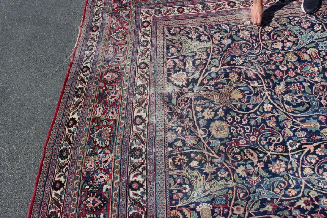 Antique and Finely Woven Roomsize Mashad Carpet - 6