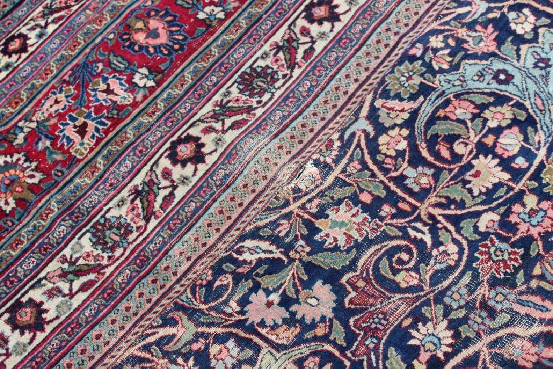 Antique and Finely Woven Roomsize Mashad Carpet - 7