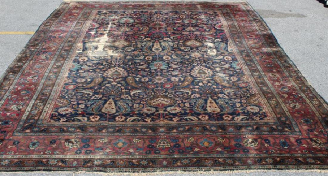 Antique and Finely Woven Handmade Carpet As / Is - 2
