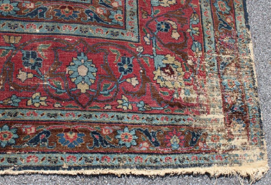 Antique and Finely Woven Handmade Carpet As / Is - 3
