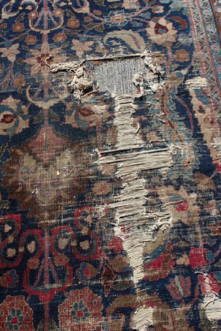 Antique and Finely Woven Handmade Carpet As / Is - 4