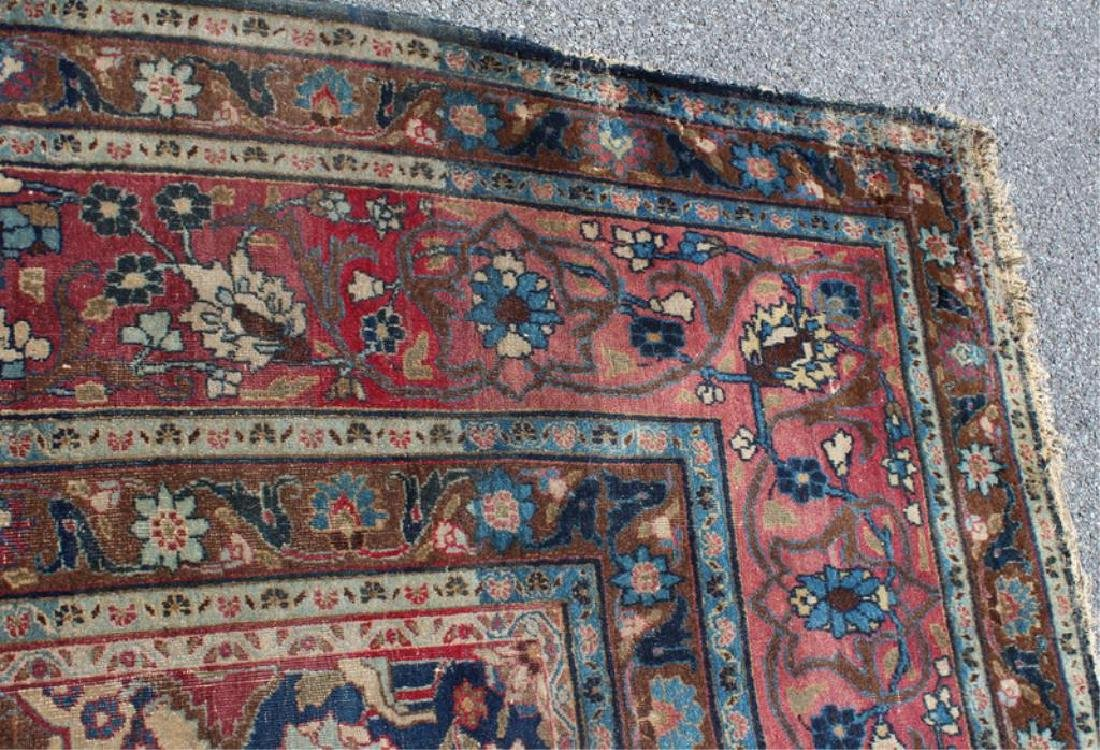 Antique and Finely Woven Handmade Carpet As / Is - 6