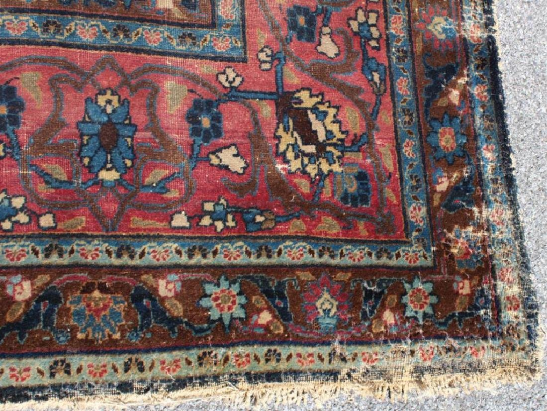 Antique and Finely Woven Handmade Carpet As / Is - 7