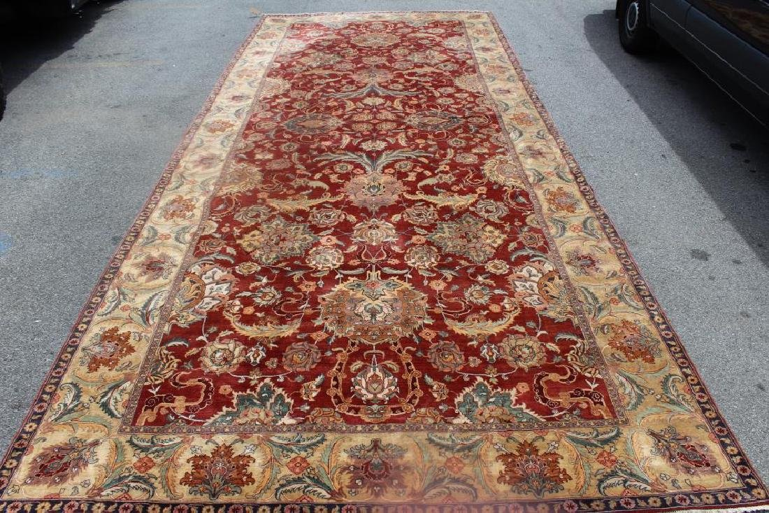 Large Antique and Finely Woven Handmade Carpet. - 2