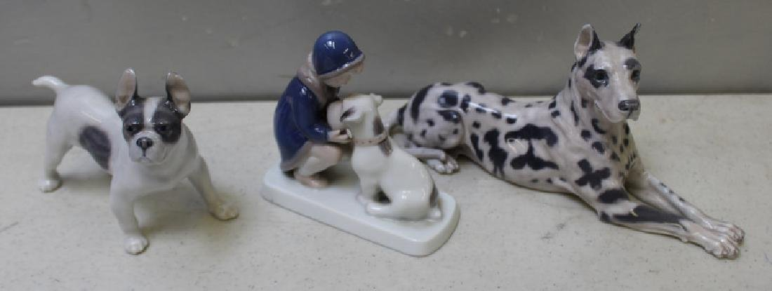 ROYAL COPENHAGEN. Lot of 9 Porcelain Figurines. - 5
