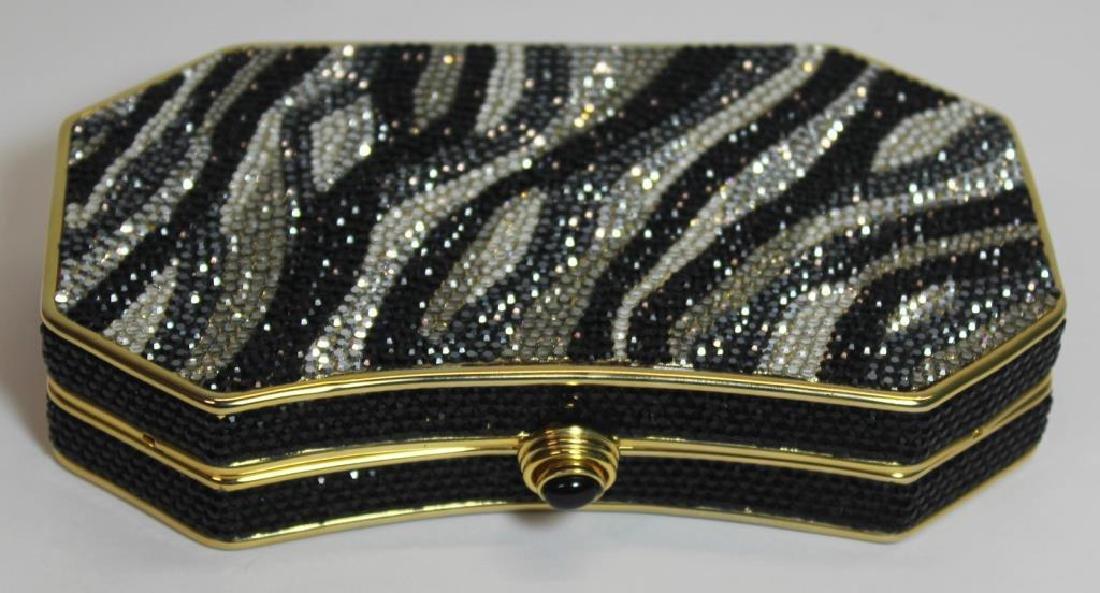 Judith Leiber Zebra Stripes Minaudiere. - 5