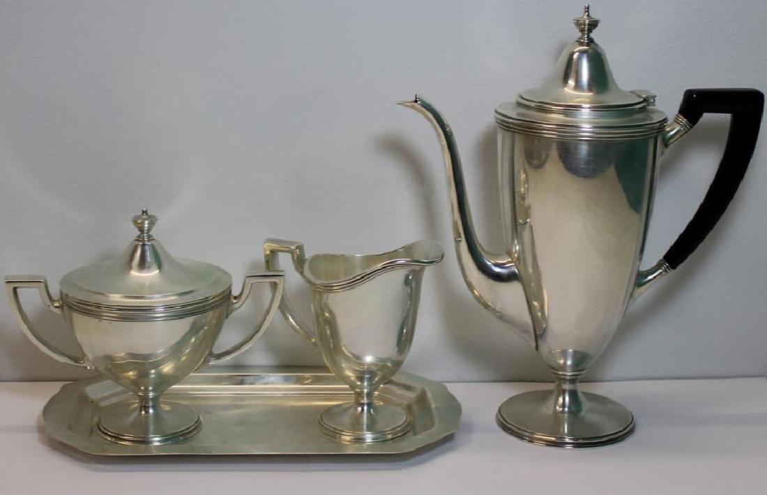 STERLING. Tiffany & Co. Sterling Tea Service.