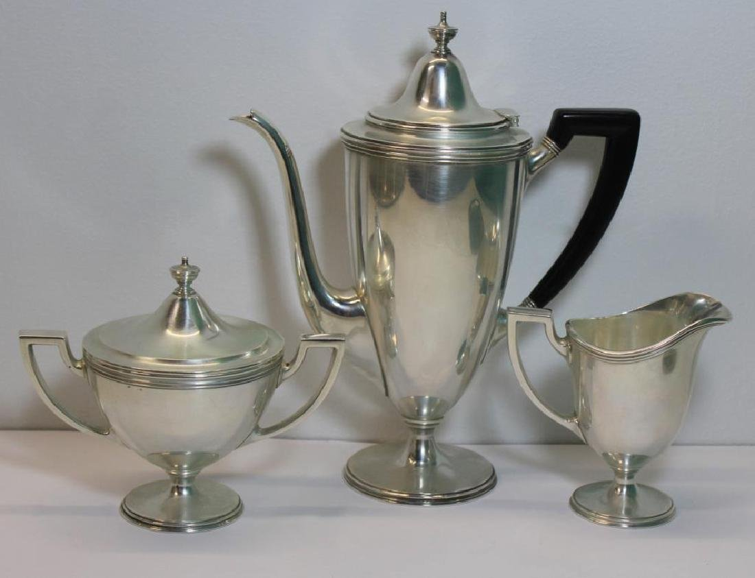STERLING. Tiffany & Co. Sterling Tea Service. - 2