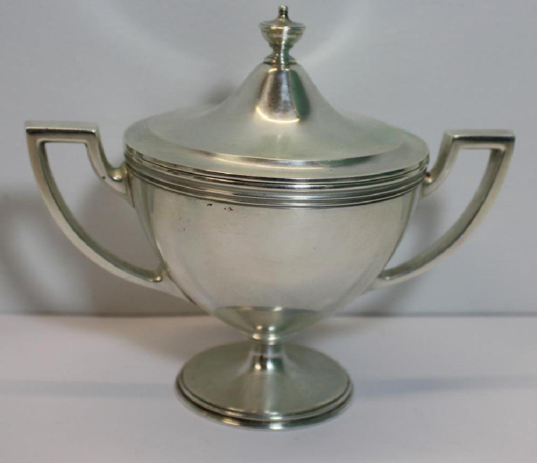 STERLING. Tiffany & Co. Sterling Tea Service. - 5
