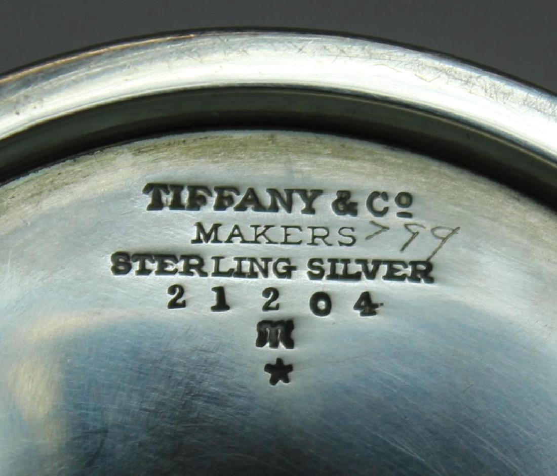 STERLING. Tiffany & Co. Sterling Tea Service. - 7