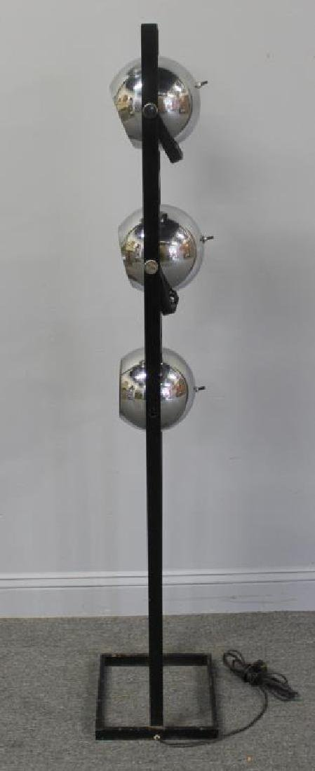 MIDCENTURY. Arteluce Chrome and Steel Standing - 4