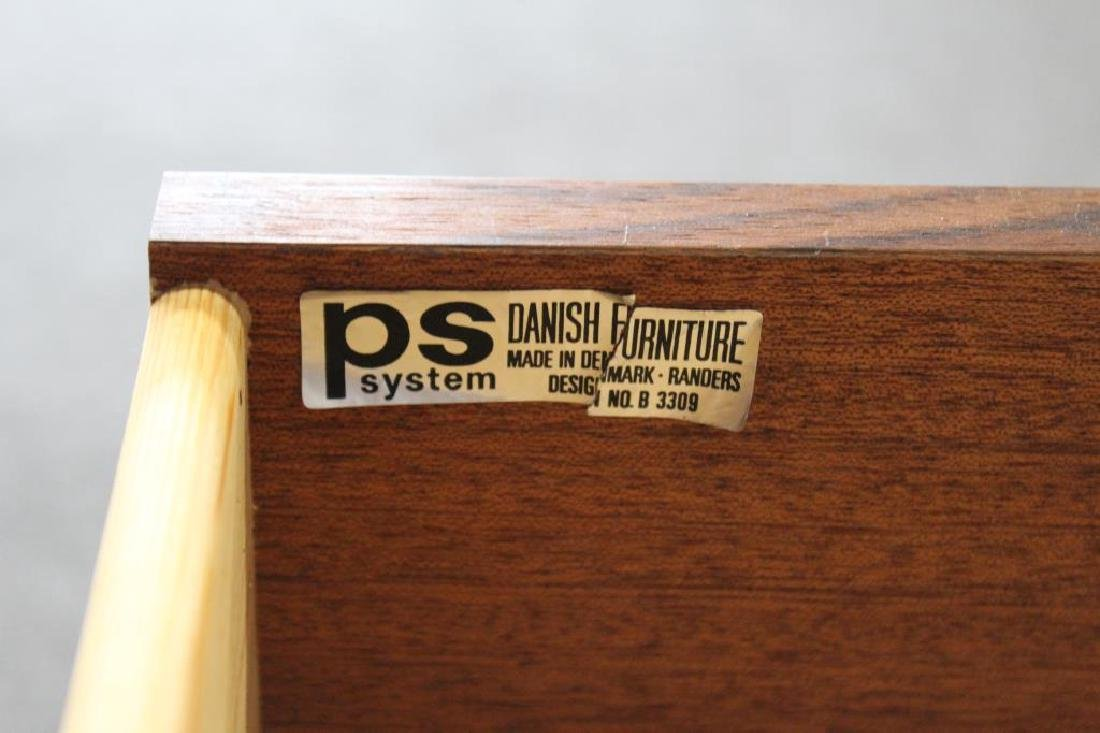 MIDCENTURY. Rosewood Wall Hung Unit Together With - 6