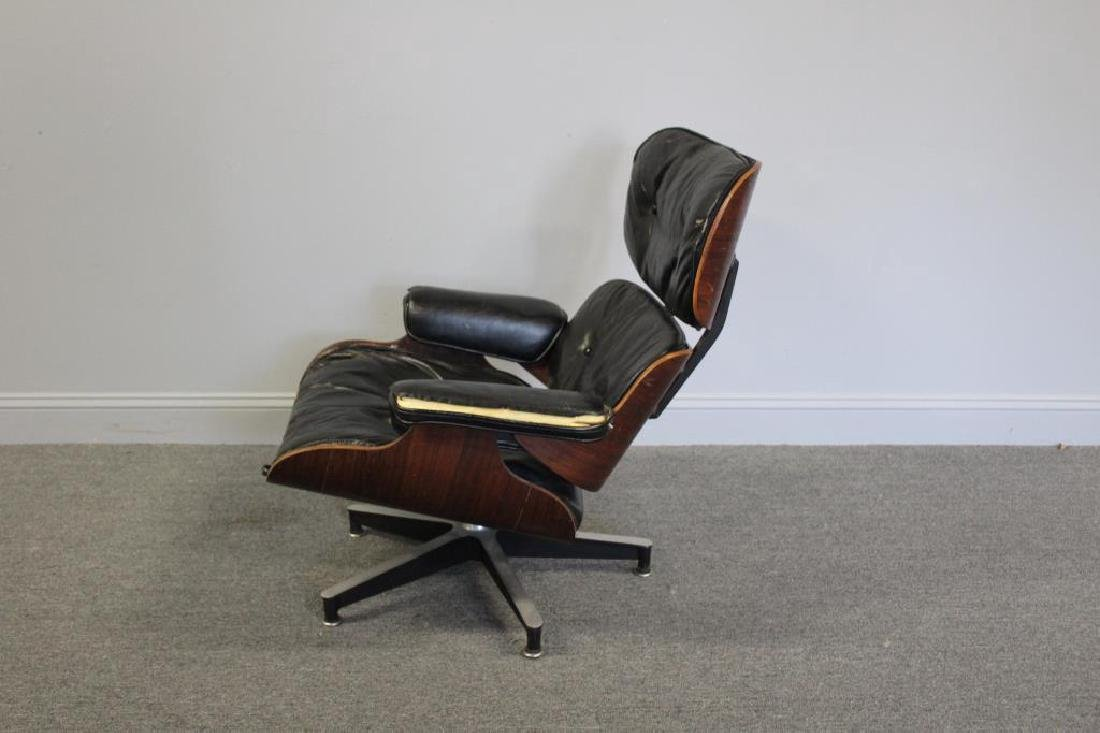 EAMES, Charles. Rosewood Lounge Chair. - 2