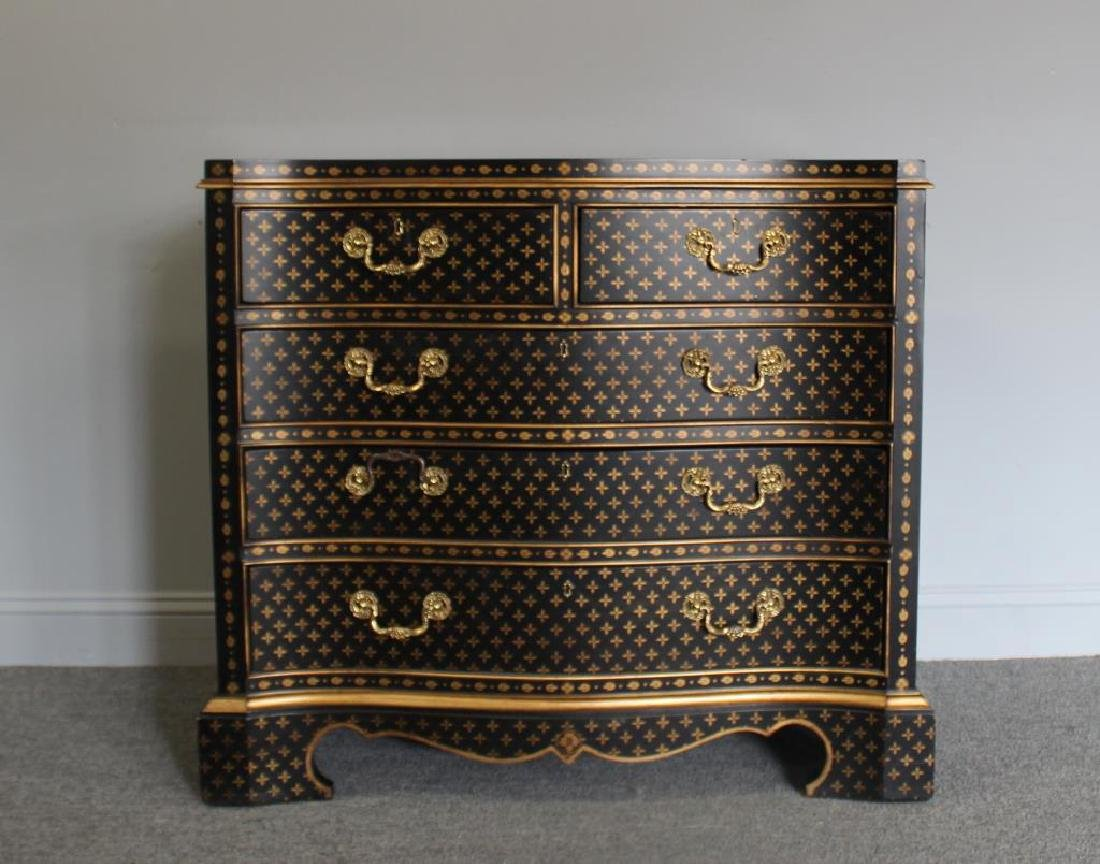 Georgian Style Commode With Vuitton Style