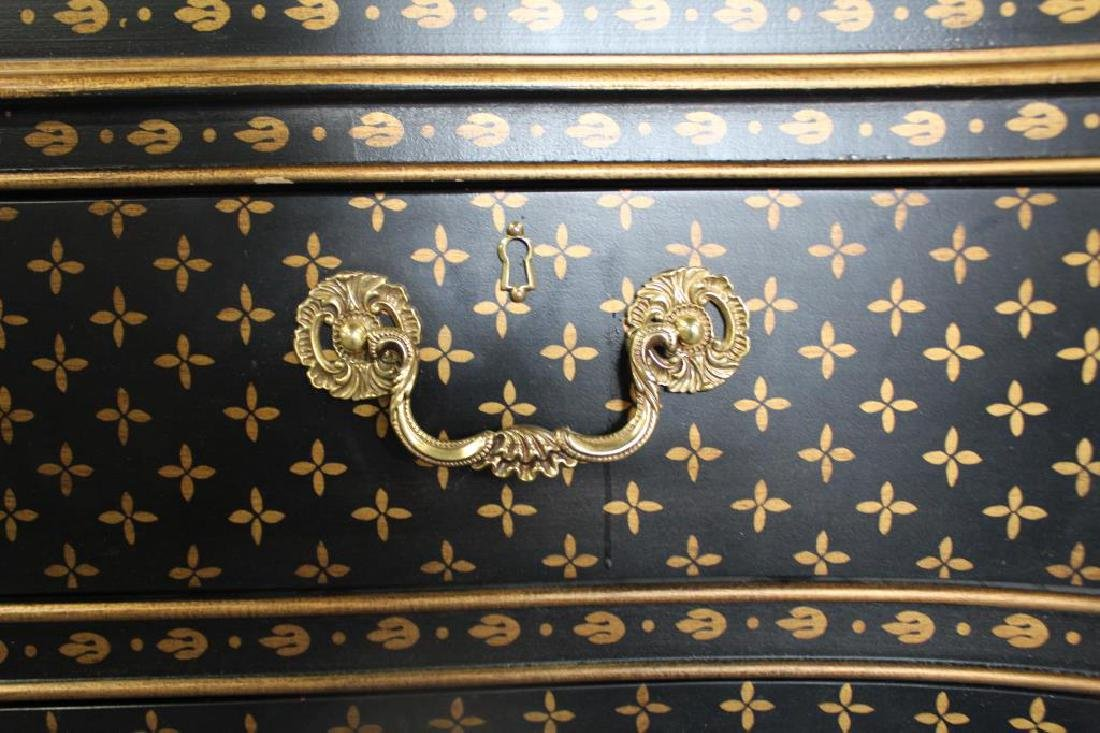 Georgian Style Commode With Vuitton Style - 3