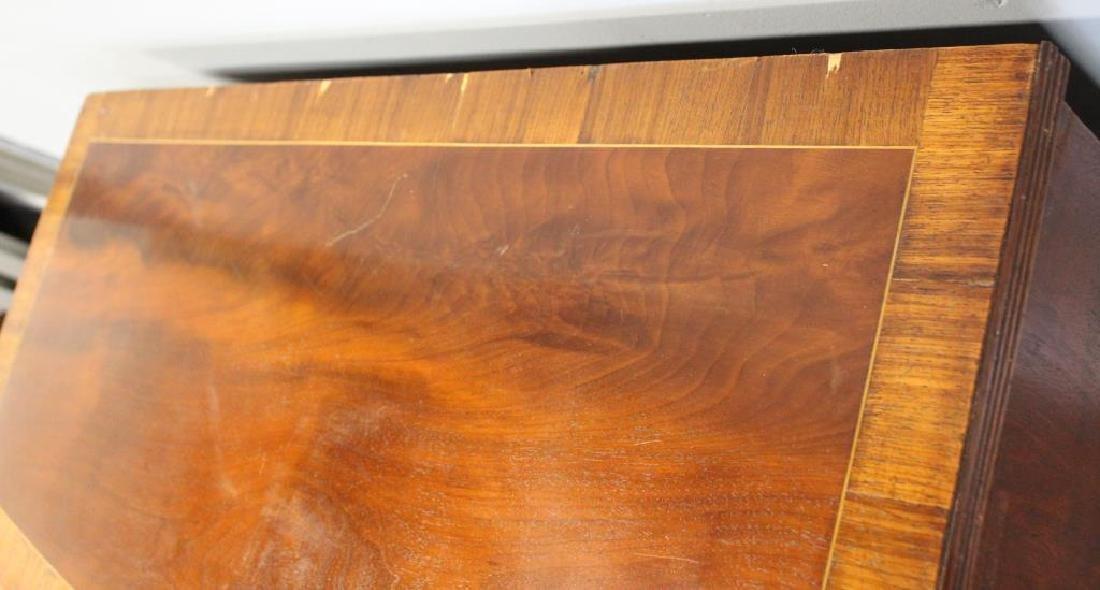 19 Century Mahogany Bow Front Commode with - 6