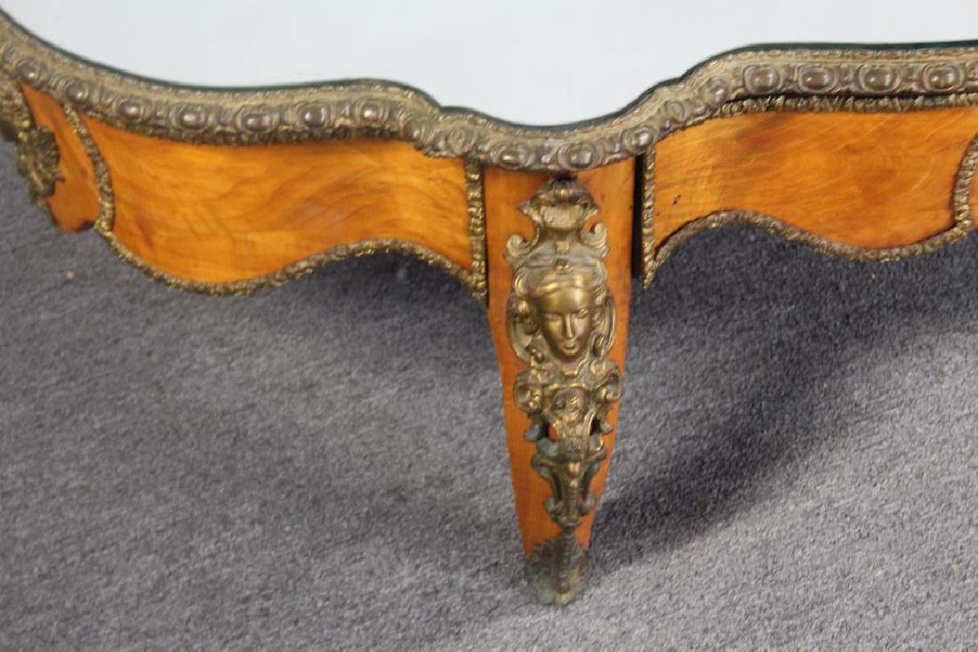 19 Century Bronze Mounted Center Table Cut - 2