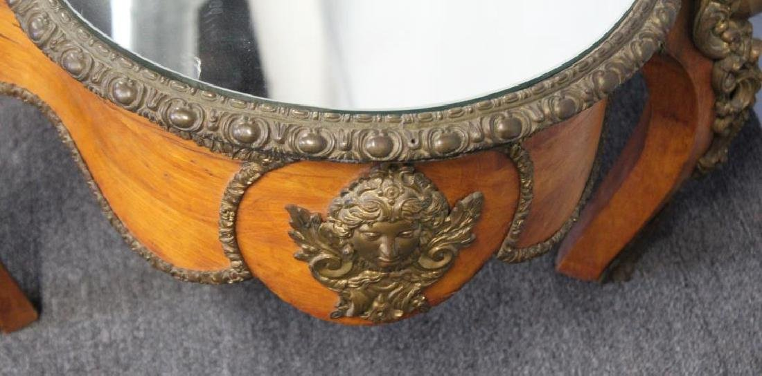19 Century Bronze Mounted Center Table Cut - 4