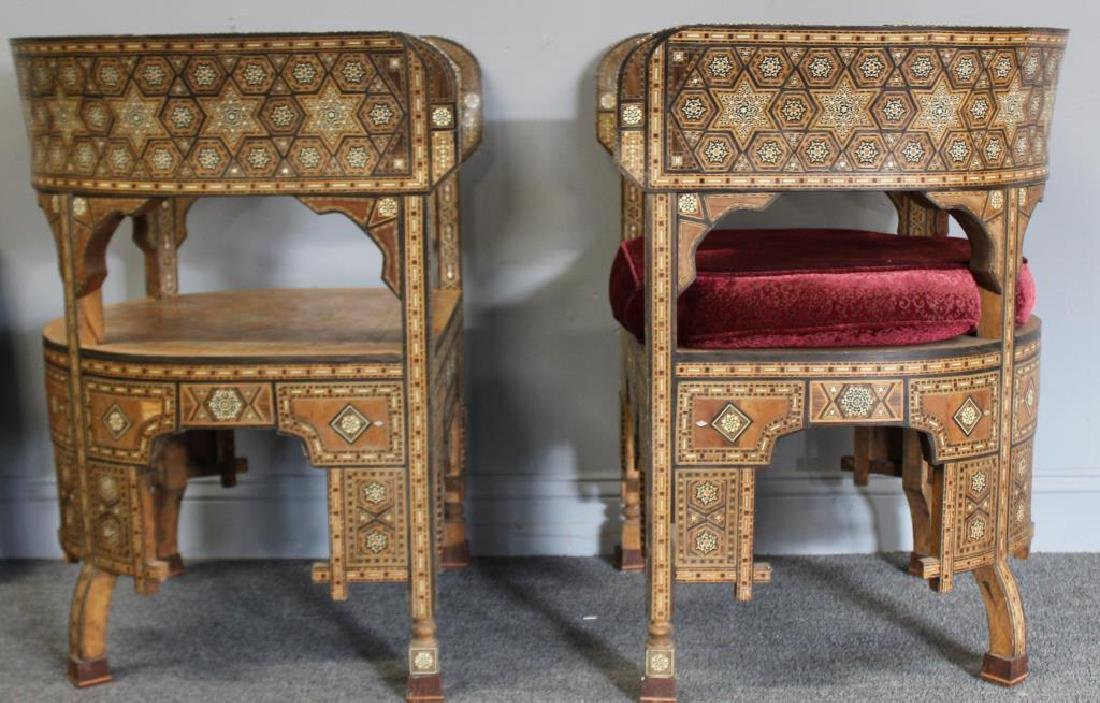 Pair of Mother of Pearl Inlaid Anglo Indian - 3