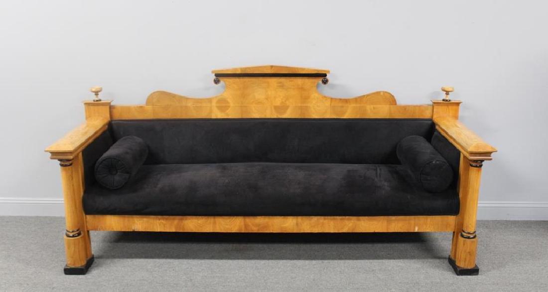 Classical Style Biedemeier Sofa.