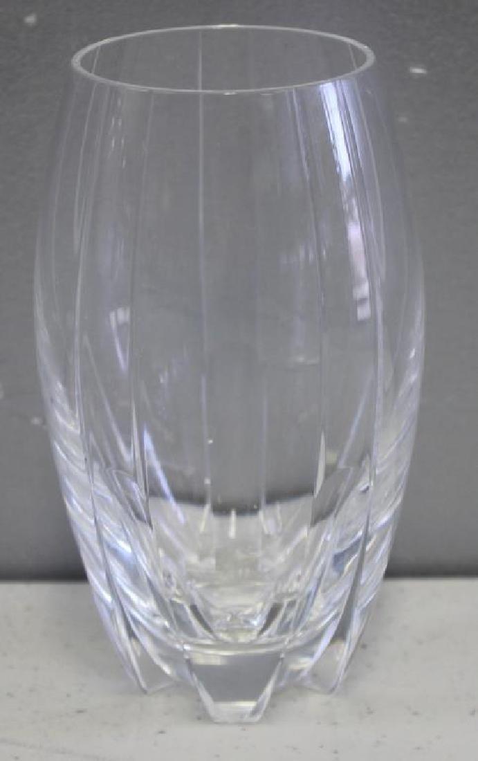 BACCARAT. Set Of 8 Cut Glass Tumblers . - 3