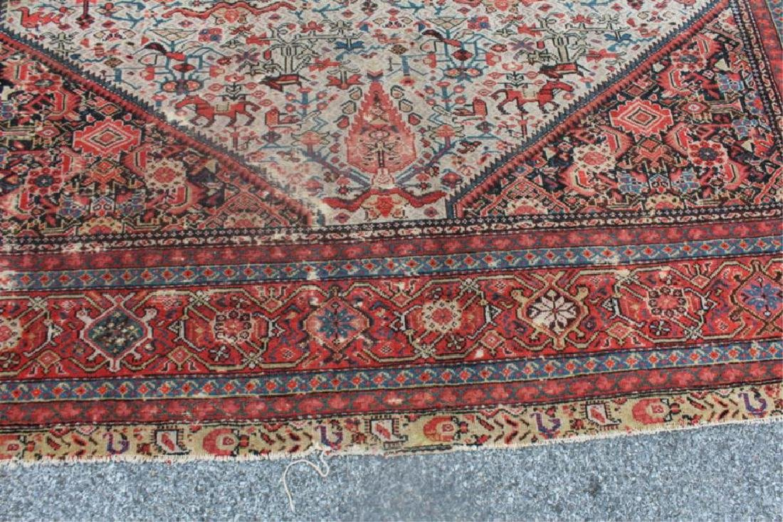 Antique and Finely Woven Kirman ? Carpet. - 4