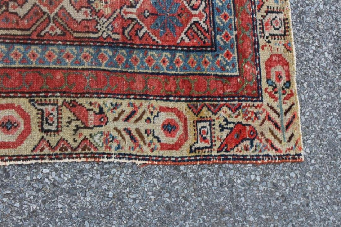 Antique and Finely Woven Kirman ? Carpet. - 5