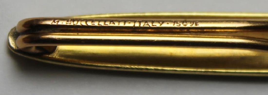 JEWELRY. M. Buccellati 18kt Gold Tie Bar. - 3