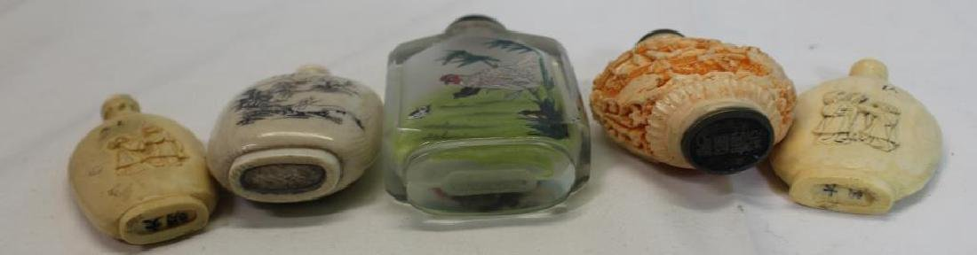 Antique Asian Grouping Of Snuff Bottles - 4