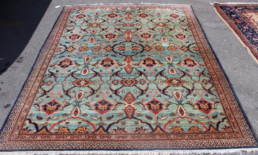 Vintage and Finely Woven Carpet with