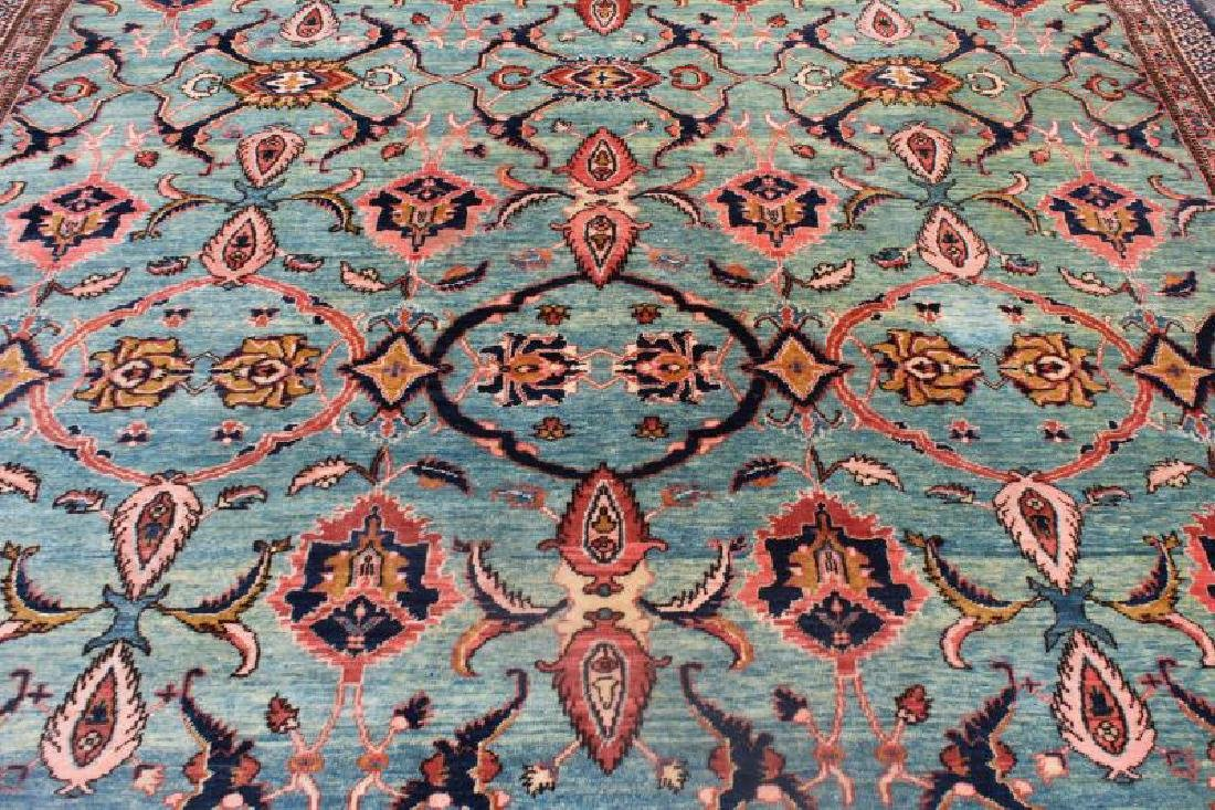 Vintage and Finely Woven Carpet with - 2