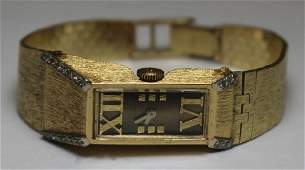 JEWELRY Lucien Piccard 14kt Gold and Diamond