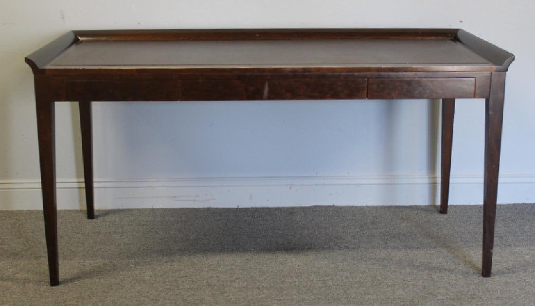 Holly Hunt / Christian Liagre Leather Top Desk.