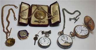 JEWELRY Grouping of Mens Watches