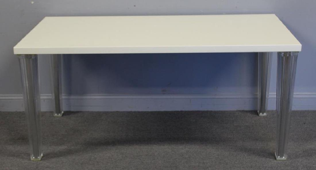 KARTELL , Italy Signed Lacquered Console With