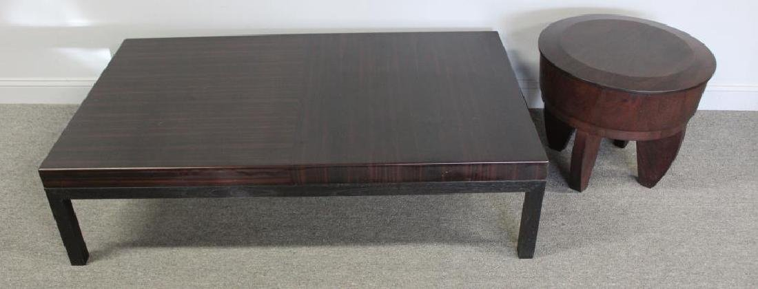 Holly Hunt Vintage Coffee Table and Endtable