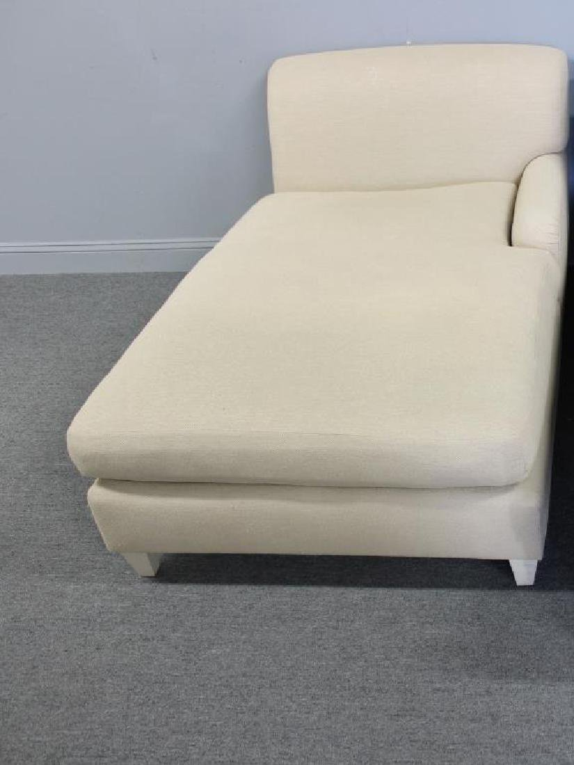 Holly Hunt Upholstered Chaise .
