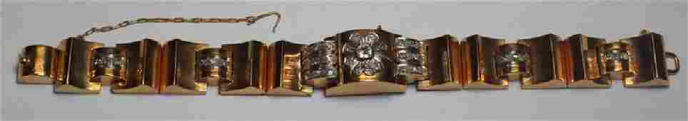 JEWELRY. Girard Perregaux 18kt Gold and Diamond