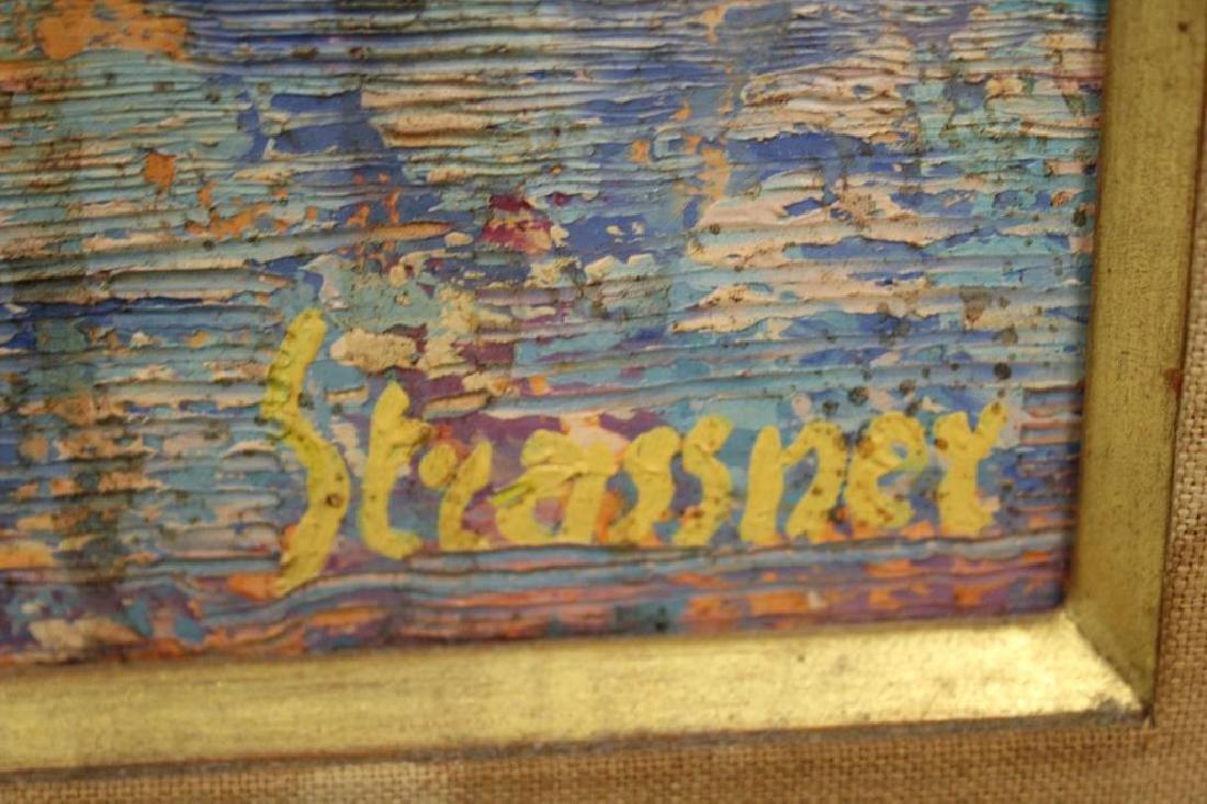 STRASSNER, Ernst. Oil on Canvas. Floral - 3