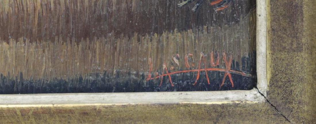 LASCAUX, Elie. Signed Oil on Canvas. - 4