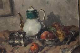 BLANKE Wilhelm Oil on Canvas Still Life